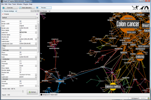 Graph Mining gephi