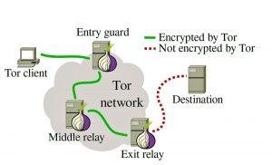 رمزنگاری در TOR