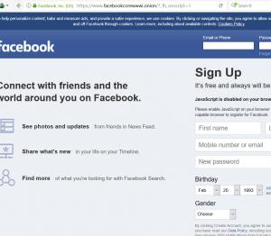 سرویس مخفی سایت Facebook