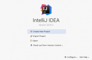 پروژه جدید با IntelliJ IDEA را آغاز کنید یا یک پروژه قدیمی را با آن باز کنید
