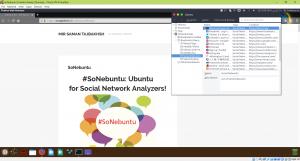 تصویری از توزیع SoNebuntu