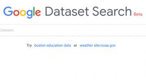 دیتاست گوگل