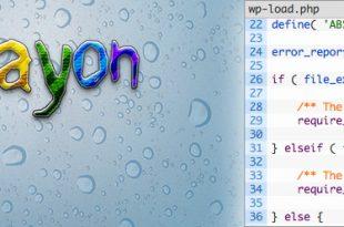 نمایش کد برنامه در وردپرس