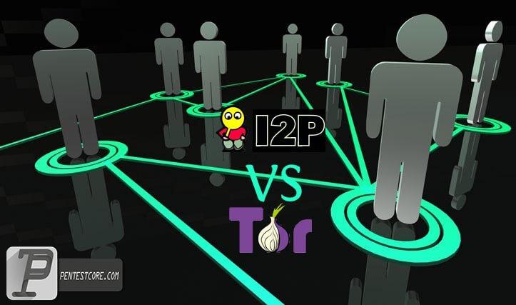 مقایسه i2p و tor