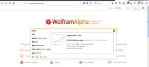موتورهای جستجوی پیشرفته ولفرام