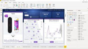 power bi data report