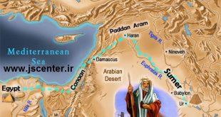 مسیر-مهاجرت-حضرت-ابراهیم